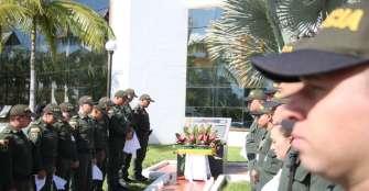 Quindío le rindió homenaje a cadetes que murieron en atentado
