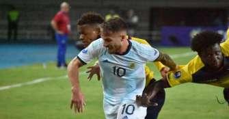 Argentina gana y asegura cupo en la fase final