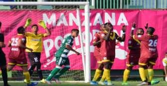 Quindío dominó a Valledupar por Copa, ganó 2-0