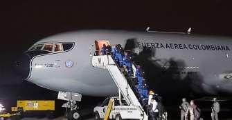 Avión militar colombiano partió a China para repatriar a ciudadanos en Wuhan