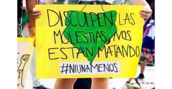 Las mujeres toman las calles para rechazar la violencia machista