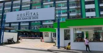 Con 11 camas para aislamiento cuenta el hospital San Juan de Dios de Armenia