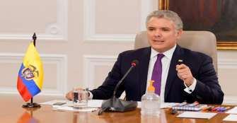 Presidente Duque descarta retomar vuelos internacionales tan pronto acabe la cuarentena