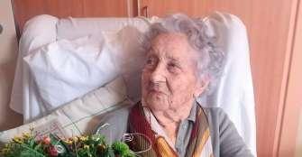 La mujer más longeva de España supera el COVID-19 a los 113 años