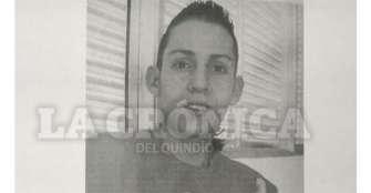 Joven está desaparecido desde el 1 de abril