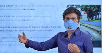 Bogotá declara alerta naranja en sistema hospitalario y reabrirá comercios