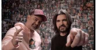 """""""Pasarán"""", el himno de Nach y Juanes en apoyo a los refugiados"""