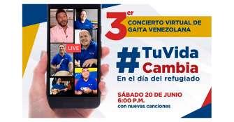 Gaita venezolana, protagonista de concierto virtual contra trata de personas