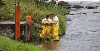 Falta de turistas no ha  mejorado calidad del agua