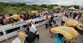 La cifra de venezolanos en Colombia desciende por segundo mes consecutivo