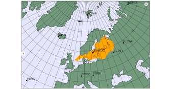 Misteriosa nube de radiación se esparce por el norte de Europa