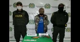 Arrestado por porte ilegal de armas de fuego