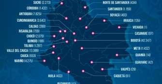 Día trágico para el país por cuenta del coronavirus. 8 casos en Quindío.