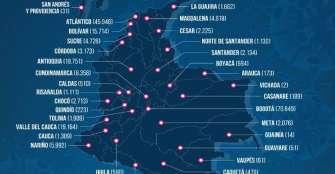 7 casos nuevos de COVID-19 en Quindío, 207 muertos en Colombia