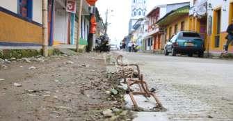 4 meses de retraso en las obras de rehabilitación vial de Filandia
