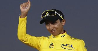"""Bernal recuerda un año después el Tour que ganó: """"Se hizo realidad mi sueño"""""""