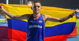Gerard Giraldo, ratificado en preselección de atletismo directo a Tokio 2021
