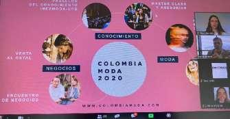 Ropa deportiva y pijamas, tendencia en compras en Colombiamoda 2020