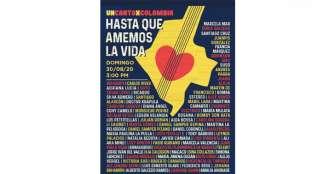 Carlos Vives, Residente y otros artistas se unen contra masacres en Colombia