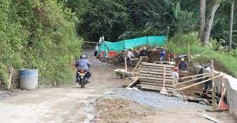 El 5 de septiembre se habilitará a un carril la vía Río Verde-Pijao