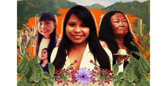 Bailarines indígenas y músicos invidentes buscan revivir el centro de Bogotá