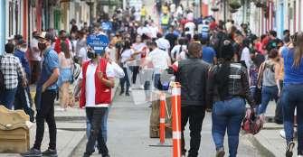 Turistas en Salento acataron recomendaciones de bioseguridad