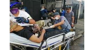 4 personas con lesiones menores dejó el incendio del sector de La Divisa