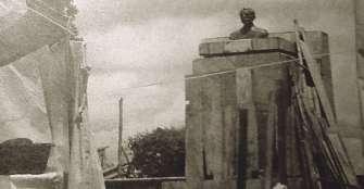 Derrumbe de bustos escultóricos e iconoclastia en la historia del Quindío