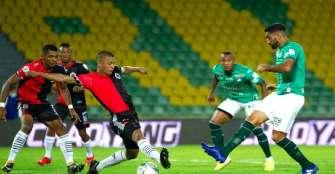 Lluvia de goles en el Centenario, Cúcuta y Cali empataron 3-3