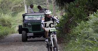 Quindío destaca como destino de  cicloturismo por sus rutas y paisajes