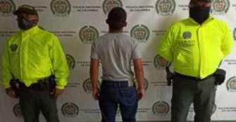 Joven de 16 años era buscado  por hurto calificado y agravado
