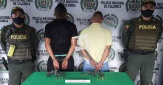 Armados que dispararon en el barrio Cañas Gordas, capturados