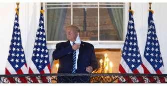Facebook y Twitter censuran mensaje de Trump en que compara COVID y la gripe