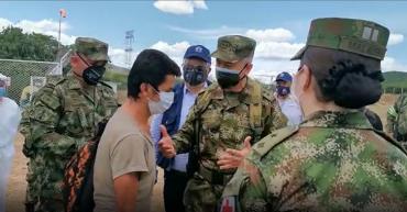Rescatan en Norte de Santander a líder social secuestrado por el Eln