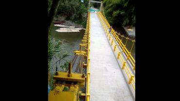 Este sábado se inaugura la obra del puente de Puerto Alejandría
