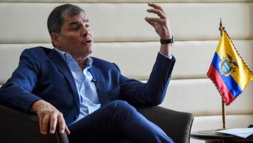 Gobierno de Ecuador espera que Interpol emita notificación roja contra Correa