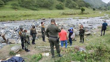 Acciones de minería ilegal generan desviación de quebrada Sardineros