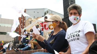 Docentes del Quindío se unirán a la gran toma del occidente colombiano