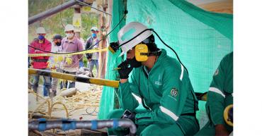 Rescatan vivos a tres mineros que estuvieron atrapados 3 días