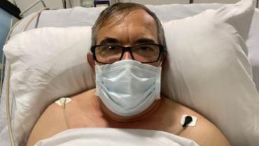 """Rodrigo Londoño, Timochenko: """"Tengo una enfermedad coronaria y fue necesario manejarla con cateterismo cardíaco"""""""