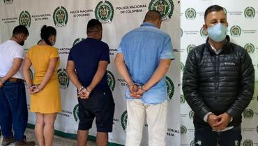 6 presuntos integrantes del colectivo delincuencial Alcanos, judicializados