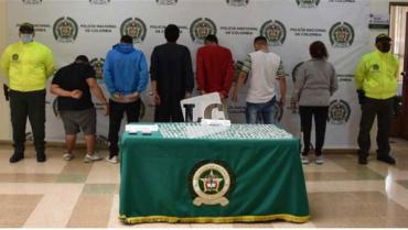 Enviados a la cárcel presuntos miembros del GDCO Los Pipas de Quimbaya
