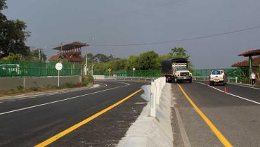 Menos accidentes y descongestión, objetivos de obra en Pueblo Tapao
