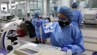 Laboratorio departamental para pruebas Covid-19 está listo