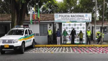 4 polizones a audiencias por tráfico de estupefacientes
