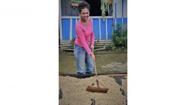 Leydi Riaño,  un ejemplo de tradición, café y finanzas