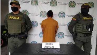 En Quimbaya, fue capturado un hombre requerido por 4 delitos