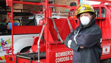 Equipos de protección, lo que le falta  al cuerpo de bomberos de Córdoba