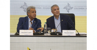 Colombia y  Ecuador  tratarán agenda bilateral el próximo jueves