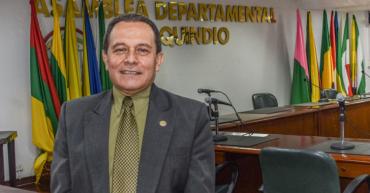 José Humberto Delgadillo Quinceno, reelegido secretario de la Asamblea